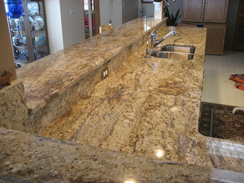 How wide should a bar top be clarkstone installations for Granite countertop width